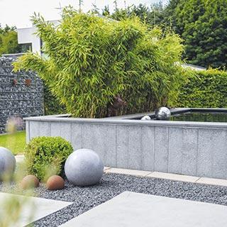 Moderne <br> Gartengestaltung