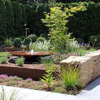 Klassische Gartengestaltung